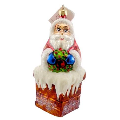 Christopher Radko Chimney Cheer Ornament Santa Christmas - image 1 of 2