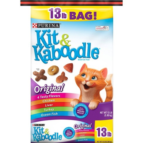 Kit & Kaboodle Original Adult Complete & Balanced Dry Cat Food - image 1 of 4
