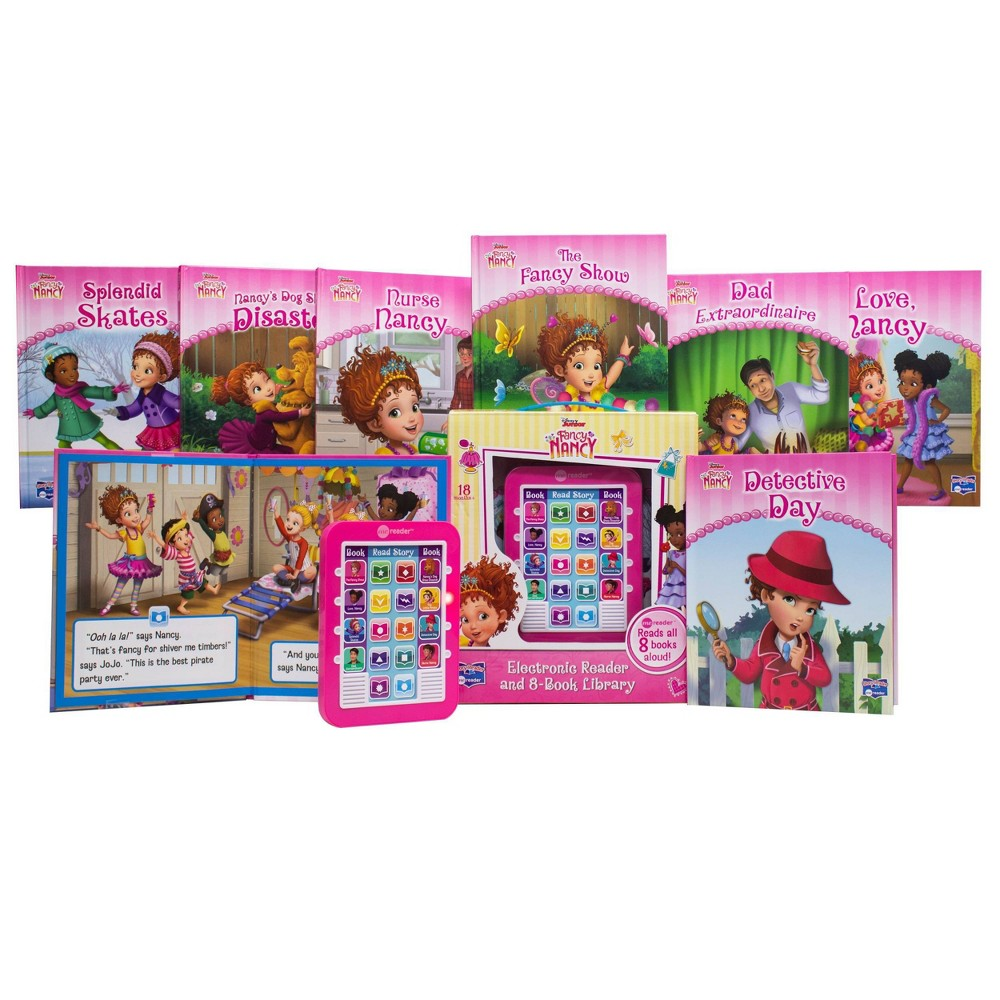 Pi Kids Disney Junior Fancy Nancy Electronic Me Reader And 8 Book Library Boxed Set