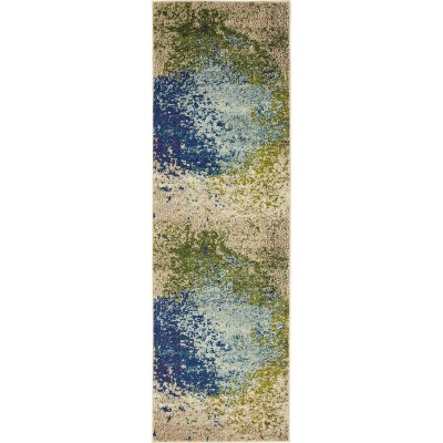 Vella Estrella Rug Blue/Beige - Unique Loom