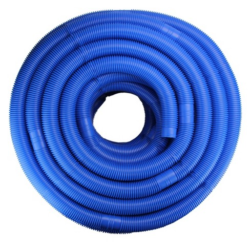 Pool Central Blow-Molded PE In-Ground Swimming Pool Cuttable Vacuum Hose  147.5\' x 1.5\