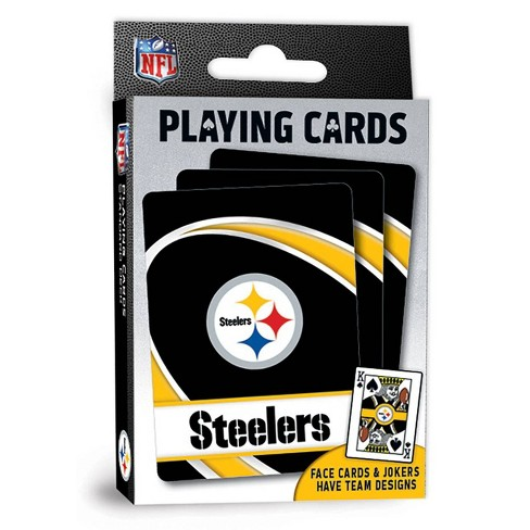 NFL Pittsburgh Steelers Playing Cards - image 1 of 3