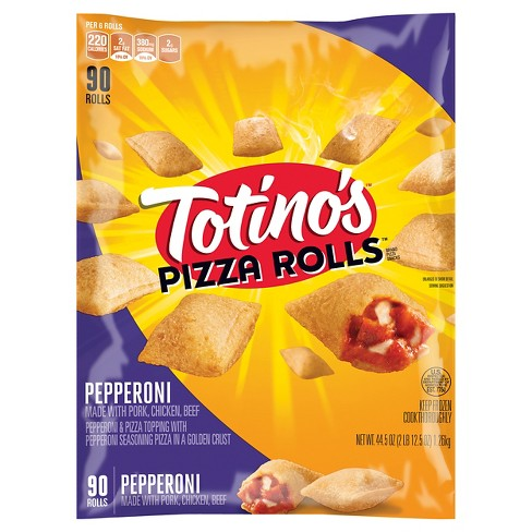 Totino's Pepperoni Frozen Pizza Rolls - 90ct . 44.5oz - image 1 of 3