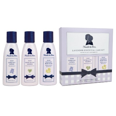 Noodle & Boo Lavender Essential Gift Set - 3ct/6oz Total