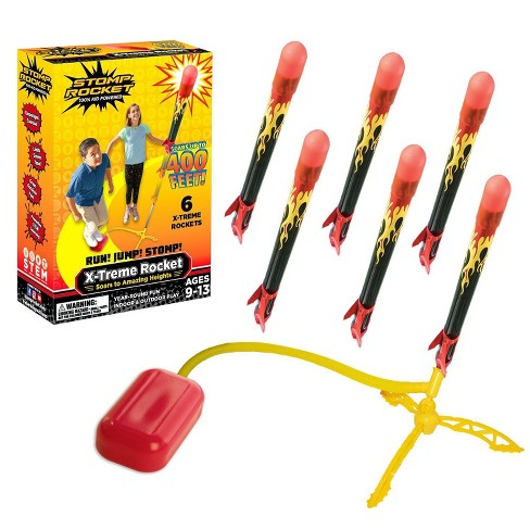 Stomp Rocket Xtreme Super High Flying Rockets with Launch Pad - image 1 of 3