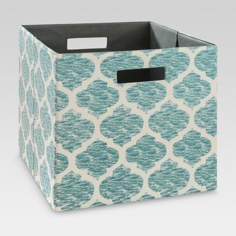 "13"" Fabric Cube Storage Bin - Threshold™ - image 1 of 1"