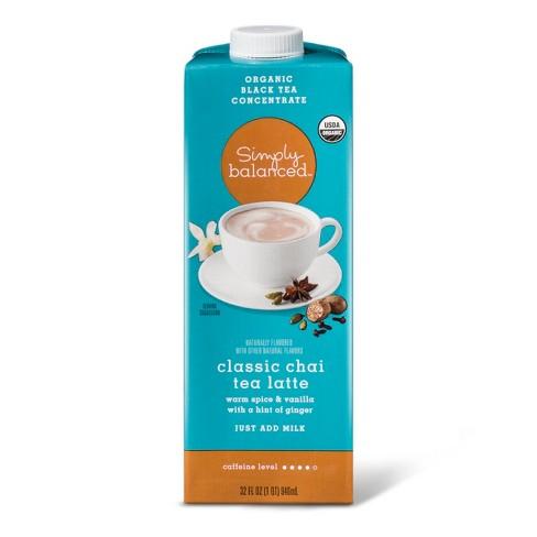 Organic Classic Chai Tea Latte