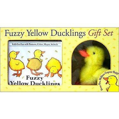 Fuzzy Yellow Ducklings Gift Set (Hardcover)(Matthew Van Fleet)