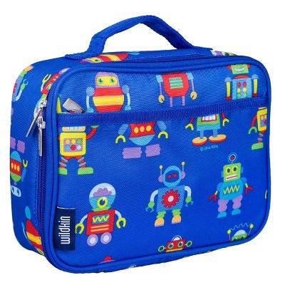 Wildkin Olive Kids' Lunch Box - Robots