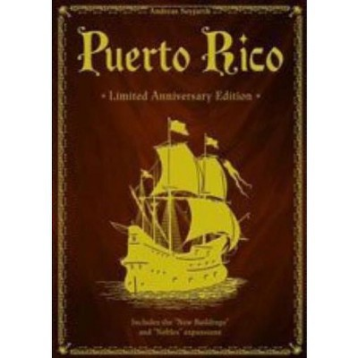 Puerto Rico (Limited Anniversary Edition) Board Game