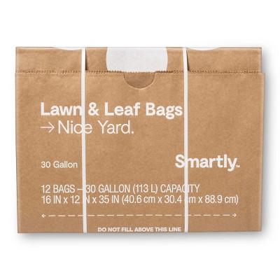 Lawn & Leaf Garden Refuse Bags - 12ct - Smartly™