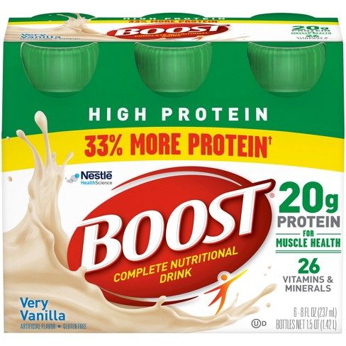 Boost High Protein Nutritional Drink - Vanilla - 8oz/6ct - image 1 of 9