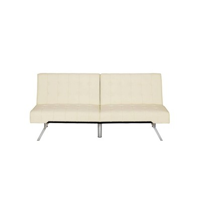 Eve Velvet Upholstered Convertible Futon - Room & Joy