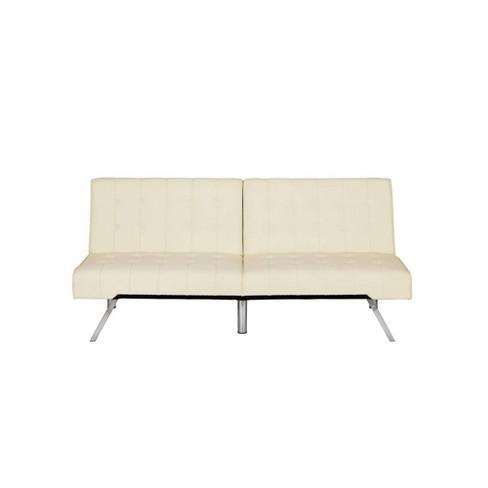 Eve Velvet Upholstered Convertible Futon - Room & Joy - image 1 of 4