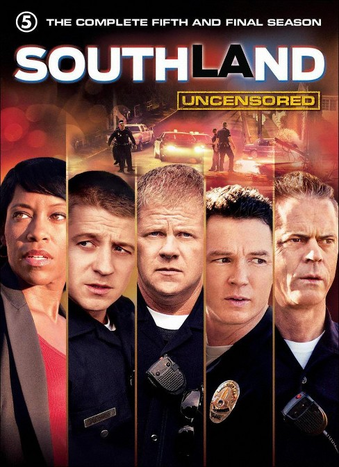 Southland:Complete fifth & final seas (DVD) - image 1 of 1