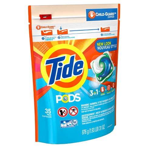 Tide PODS Ocean Mist HE Turbo Laundry Detergent Pacs - 35ct - image 1 of 2
