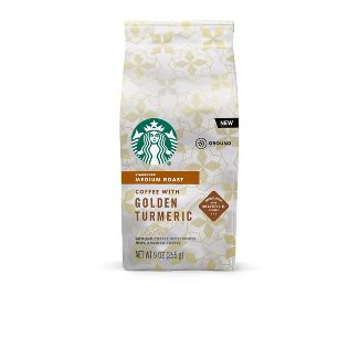 Starbucks Golden Turmeric Ground Medium Roast - 9oz