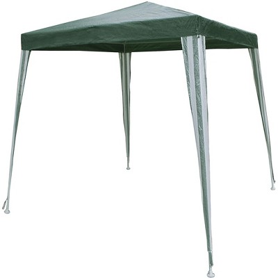 ALEKO Waterproof Portable Pop Up 6.5 x 6.5 Feet Gazebo Tent Canopy Shelter for Outdoor Shade Coverage and Party Entertainment, Green