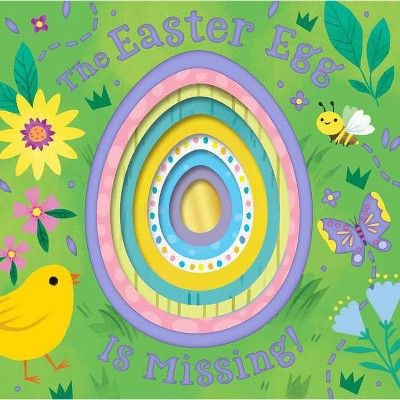 The Easter Egg Is Missing! (Board Book with Cut-Out Reveals) - by Houghton Mifflin Harcourt