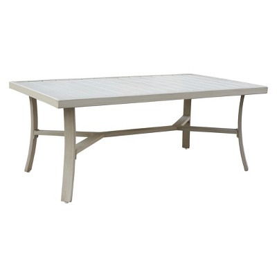 Exceptionnel Torino Aluminum Outdoor Rectangle Coffee Table   Camel   Courtyard Casual