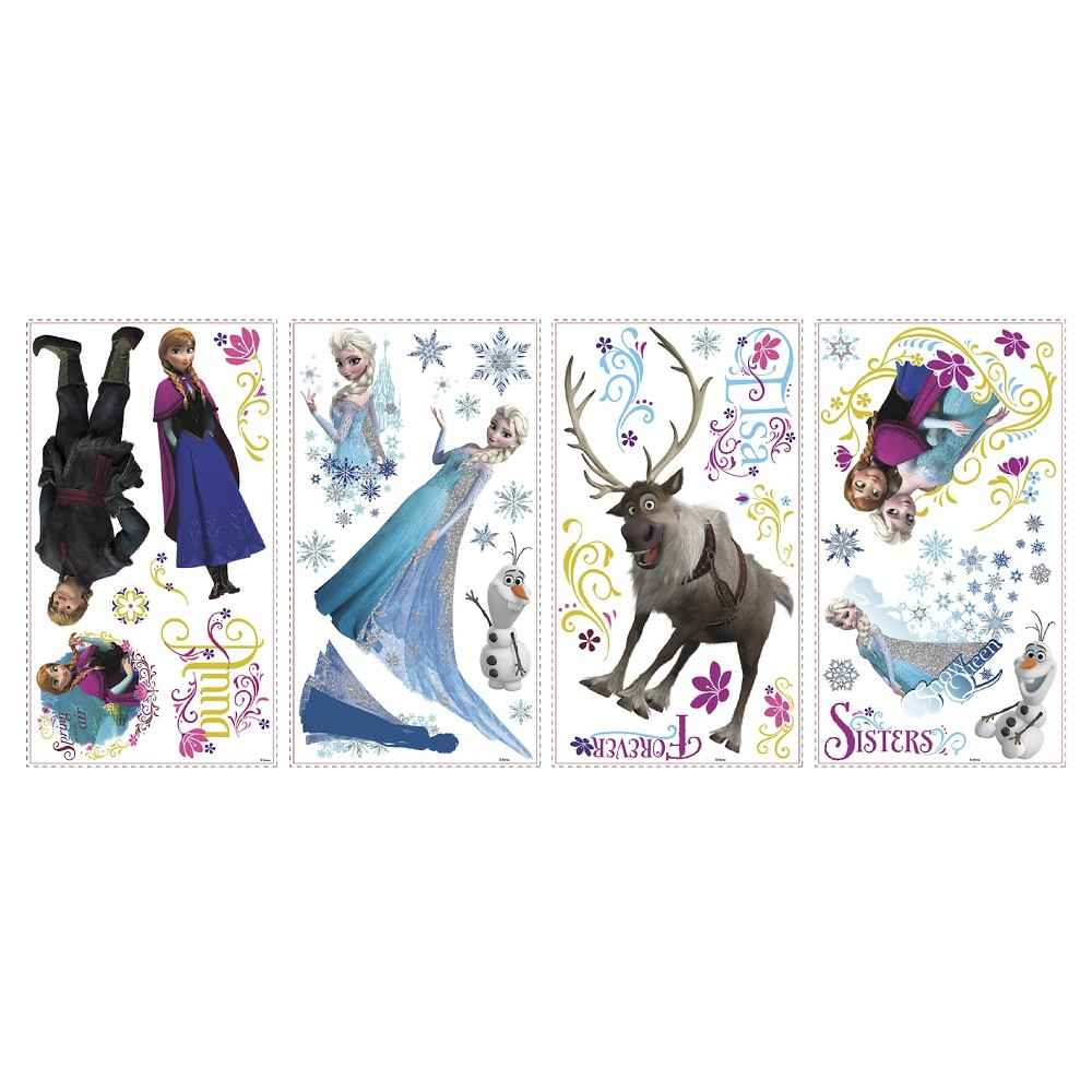 RoomMates Disney Frozen Wall Decals, Multi-Colored