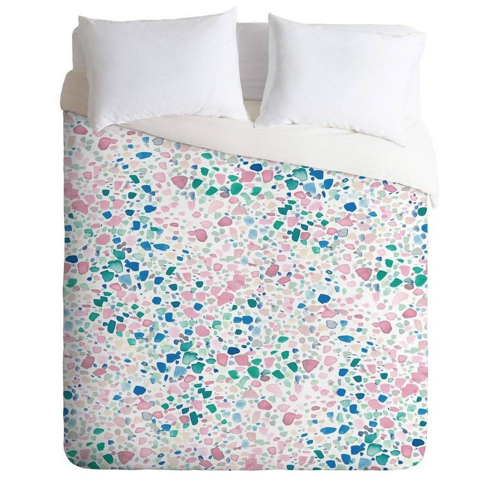 Full/Queen Jacqueline Maldonado Comforter & Sham Set Pink - Deny Designs