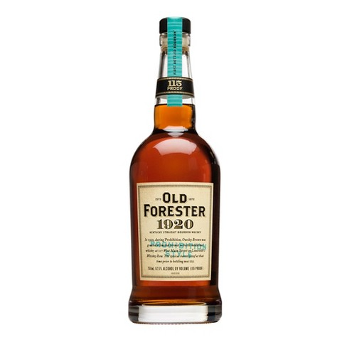 Old Forester 1920 Prohibition Style Bourbon - 750ml Bottle - image 1 of 3