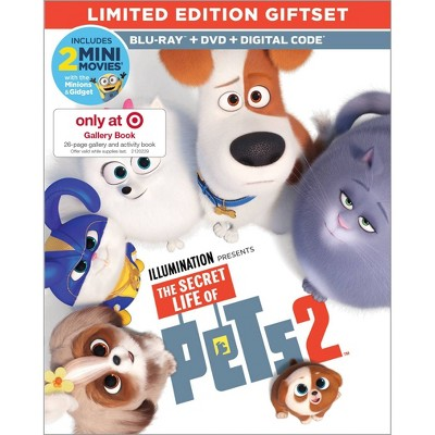 The Secret Life of Pets 2 (Target Exclusive) (Blu-ray + DVD + Digital)