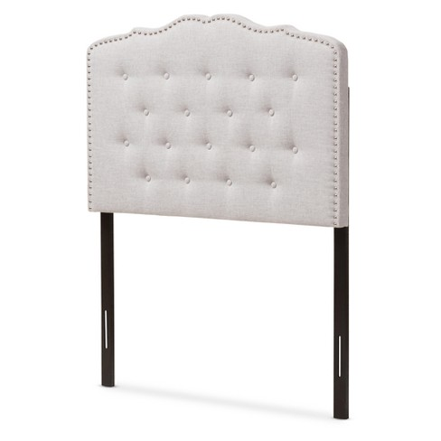 Lucy Modern And Contemporary Fabric Headboard - Baxton Studio - image 1 of 5