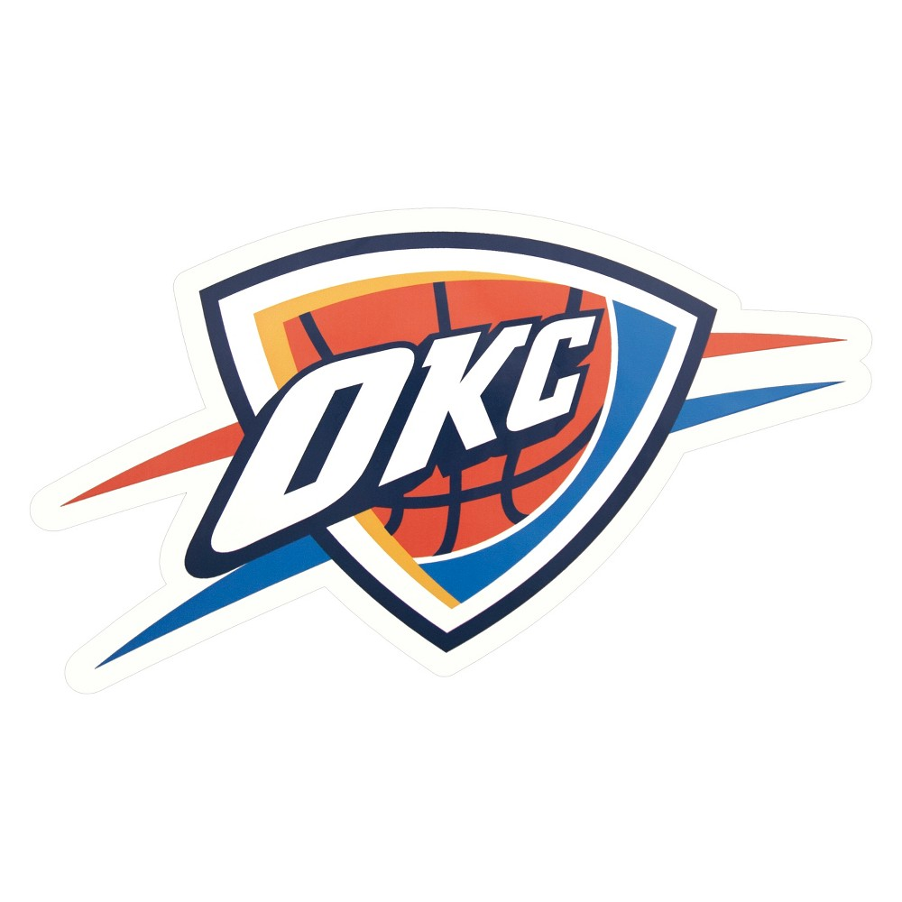 NBA Oklahoma City Thunder Small Outdoor Logo Decal