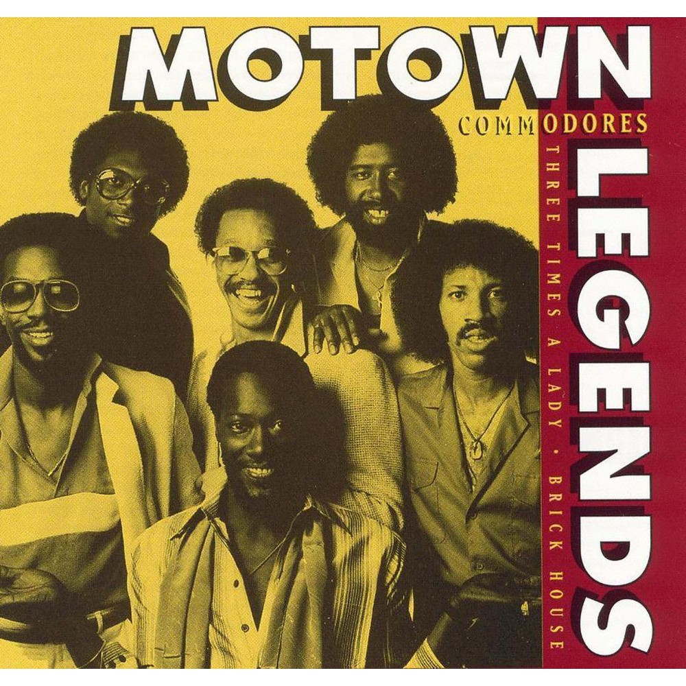 Commodores - Motown Legends (CD)