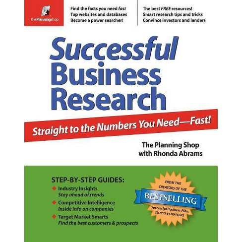 Successful Business Research - (Paperback) - image 1 of 1