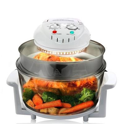 MegaChef Multipurpose Air Fryer Oven - White