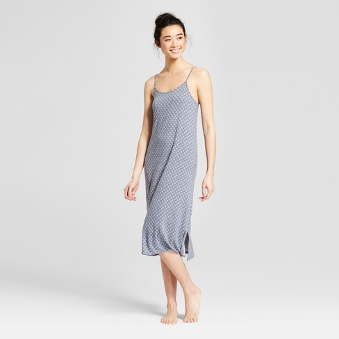 Women s Total Comfort Mid Length Nightgown - Gilligan   O Malley™ Blue 1459c0978