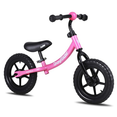 Joystar 12 Inch Ages 1.5 to 5 Kids Toddler Roller Training Balance Bike Bicycle, Pink - image 1 of 4