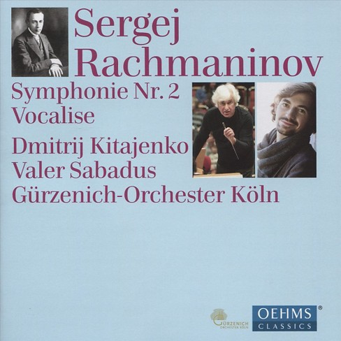 Gurzenich Orchestra - Rachmaninov:Sym No 2/Vocalise (CD) - image 1 of 1