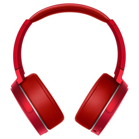 fab2f90adad Sony MDRXB950B1/R Extra Bass Wireless Around-The-Ear Headphones - Red