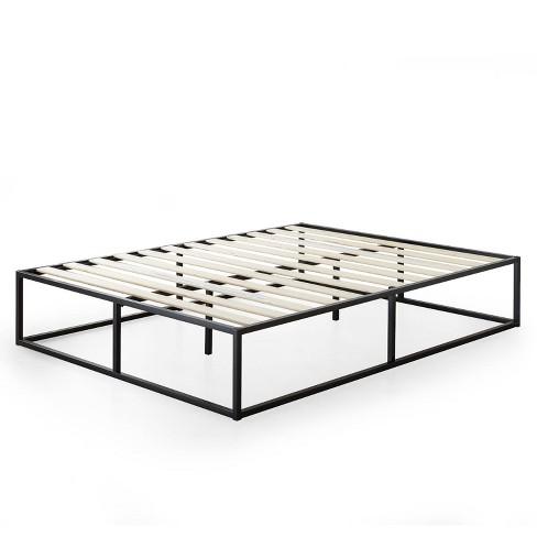 """14"""" Joseph Platform Bed Frame Black - Zinus - image 1 of 4"""