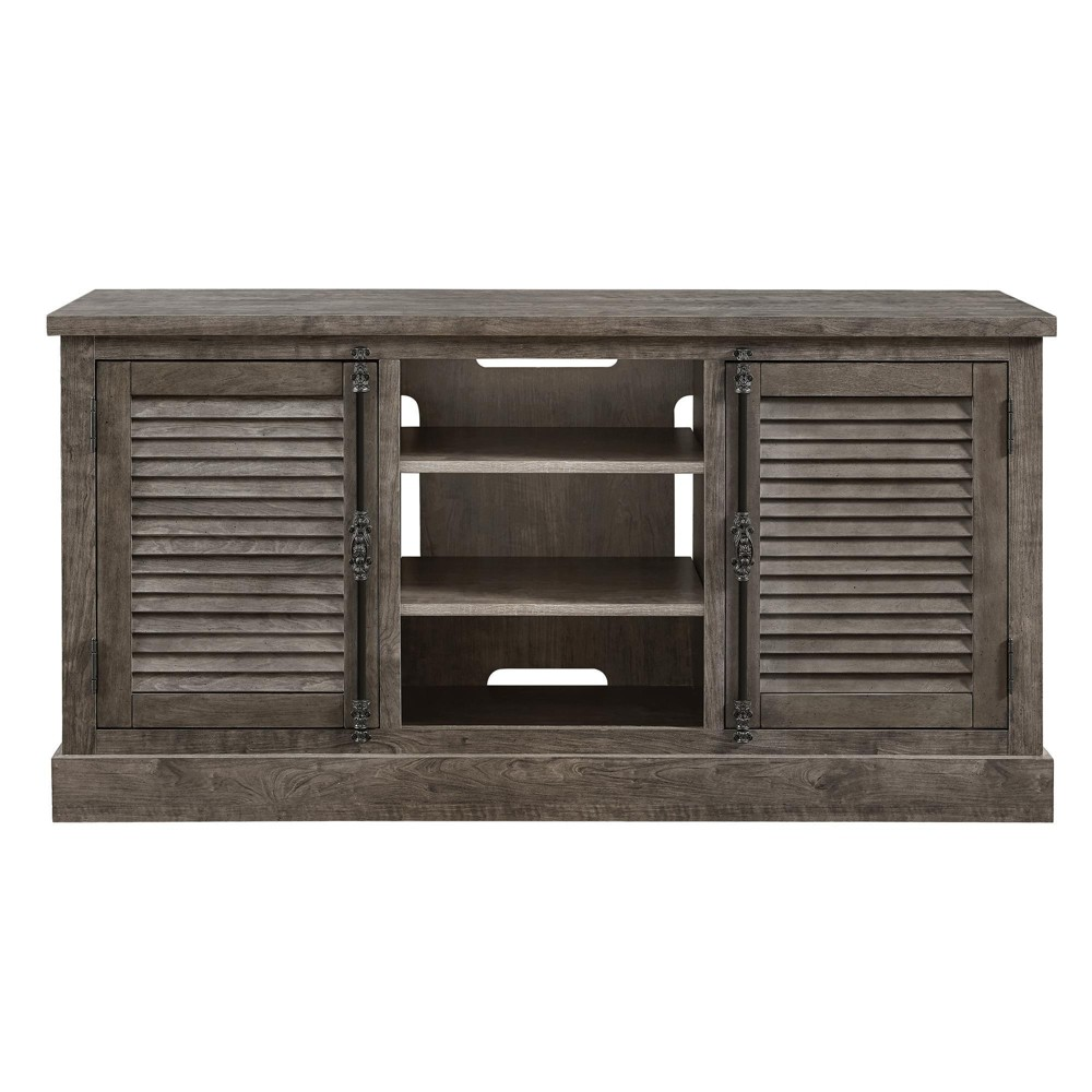 Cheshire Tv Console For Tvs Up To 65 Wide Rustic Gray Room Joy