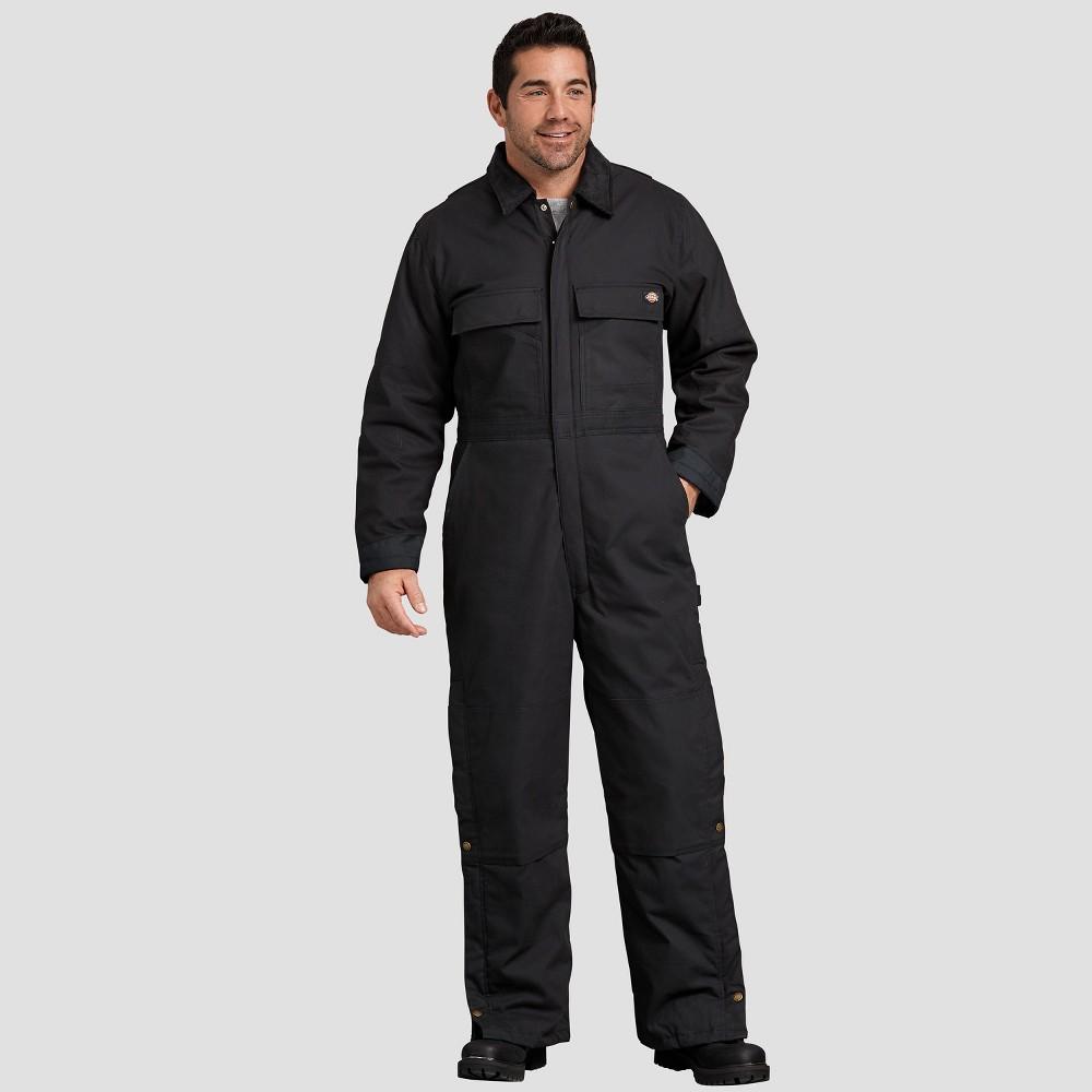Dickies Men's Big & Tall Straight Fit Overalls - Black 3XL