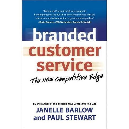 Branded Customer Service - by  Janelle Barlow (Paperback) - image 1 of 1