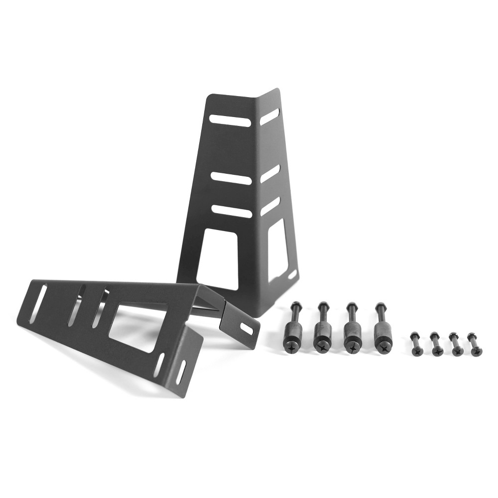 Image of Pragma Bed Headboard/Footboard Brackets Black - Pragma Bed