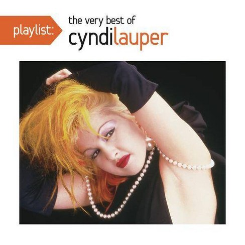Cyndi Lauper - Playlist: The Very Best of Cyndi Lauper (CD) - image 1 of 1