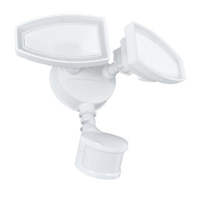 Ecolight 2 Light LED Motion Security Light - White