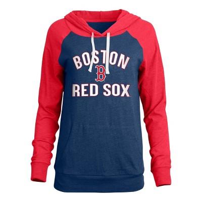 MLB Boston Red Sox Women's Bi-blend Lightweight Hoodie