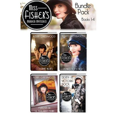 Miss Fisher's Murder Mysteries Bundle - by  Kerry Greenwood (Paperback)