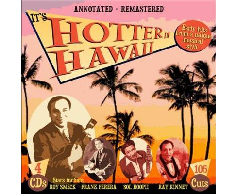 Various - It's Hotter In Hawaii (CD) - image 1 of 1