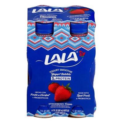 LaLa Wild Strawberry Yogurt Smoothie - 7 fl oz/4ct