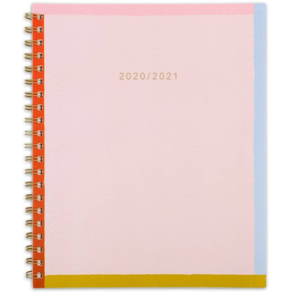 "Image of ""2020-21 Academic Planner 8.5"""" x 11"""" Colorblock - Knot + Bow"""