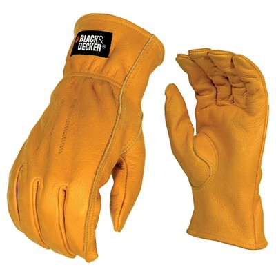 Black & Decker BD555 Leather Work Glove